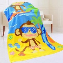 cartoon character cheap ctoon beach towel stock lot