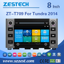 car head unit system for Toyota Tundra 2014 2015 car head unit with GPS Navigation,Radio,Audio,Bluetooth,RDS,3G,wifi,V-10disc