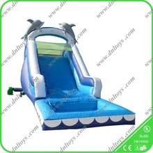 CE residential water slide, inflatable water slide