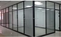 Modern Design Glass office partition wall