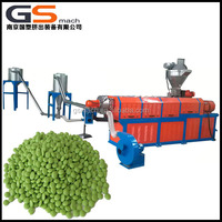 High Quality Twin Screw Extruder plastic production pp pe caco3 masterbatch extruder machine