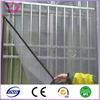 See through anti-insect polyester window screen mesh fabric