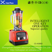Hot Sale Commercial blender With Low Voice Easy Cleaning Electric Vegetable black and decker blender parts