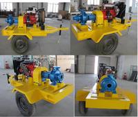 6 inch isuzu diesel water pump powered by isuzu diesel engine