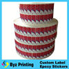 Custom Printing Paper Stickers,Round Baby&Co Adhesive Paper Stickers,Paper Labels Rolls for Gifts and Crafts