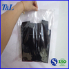 Packaging clothes clear OPP plastic garment bag with self-adhesive tape