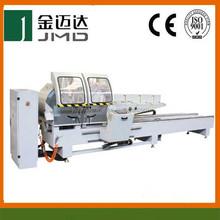 Digital-display Precise Double-head Cutting Saw adopt hydraulic damping cylinder and ball screw