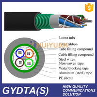 China Supplier 12 Core Single Mode Fiber Optic Cable Price Per Meter