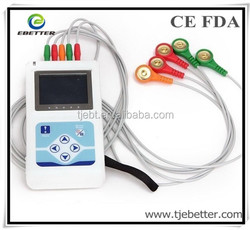 CE approved 2015 New product TLC 9803 digital 3 Channel Holter ECG machine-ECG holter system