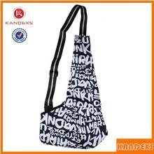New Fashion Foldable Dog Backpack Pet Dog Cat Cross Body Bag Messenger Bag