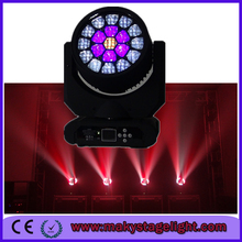 high brightness bee eye 19x12w 4 in1 rgbw aura led beam moving head light for dj