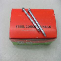 China high quality concrete nail / concrete steel nail / concrete nail sizes