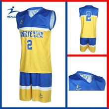 Healong 3D Sublimation Wholesale Basketball Training Wear