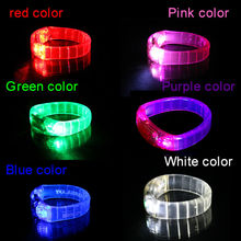 2015 Hot Market Items Glow Slap Led Bracelet