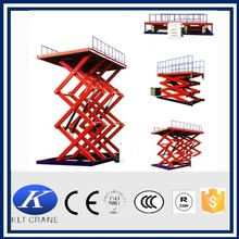 Stationary scissor lift , Hydraulic portable lifter