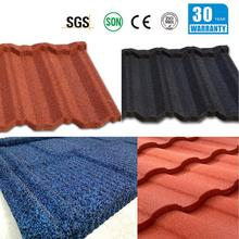 stone coated metal roof tile/stone coated steel roof tile/roof tile discount roof tile stone coated roof cover
