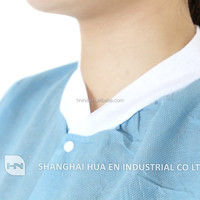 disposable working smock / disposable lab coats