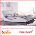 El último 2014 europa nuevo diseño de la cama doble en la venta m2821#