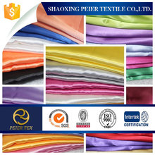 latest style poly satin fabric for ladys dress in 2015