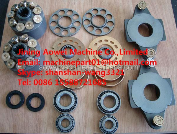 A8VO120 Hydraulic main pump parts use for PC220 excavator main hydraulic pump
