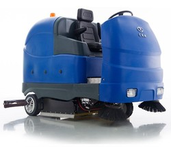 CE certified Ruijie X16 All-electric Manually-steered Floor Scrubber