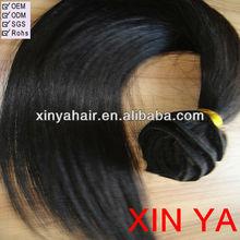 Most Popular 100% human hair weave artificial hair extension