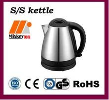 Stainless steel tea urn hot water boiler electric teapot kettle factory 1.7L