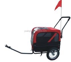 Pet trailer for bike/dog stroller/ luxury pet stroller for big pet whole