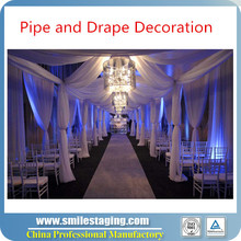 Pipe and Drape Fashion Show Backdrop used pipe and drape for sale
