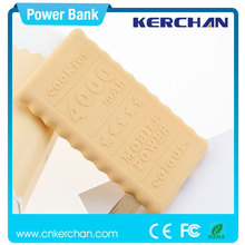 2015 most popular 4000mah polymer power bank,power bank chanel,wallet case cellphone charger for smartphone