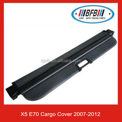 X5 E70 Cargo Cover For BMW Retractable Rear Luggage Cover
