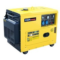 3kw 5kw 6kw silent small air cool portable generator,silent diesel generator
