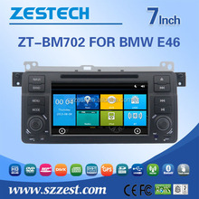Newest 7 inch touch screen gps system car navigation for BMW E46 car navigation dvd radio gps player video audio mp3/4 BT pnone