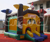 Small inflatable clown bouncer castle for sale