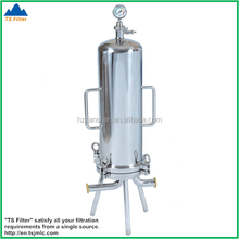 China Professional Manufacturer Food Grade Stainless Steel Cartridge Filter Housing after Wine Filter Press