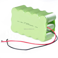 NI-MH Rechargeable C4500mAh 18V battery pack for Electric bicycles /shaver/vacuum cleaner