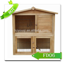 large raised rabbit hutch run chicken coop top sales