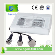 CG-2007 free shipping !!! good price ultrasonic skin care facial equipment for reduce wrinkles