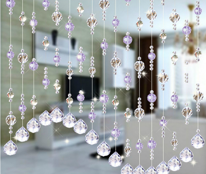 2017 vente chaude derniers types de cristal rideau de perles pour la d coration de mariage. Black Bedroom Furniture Sets. Home Design Ideas