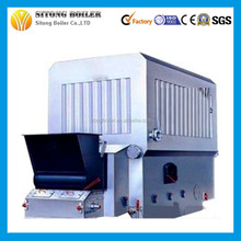 Horizontal Chain Grate Coal / biomass fired thermal oil heater boiler