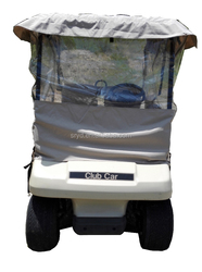 2 Seater electric golf carts with golf cart rain cover (AX-D2-G) with lithium battery