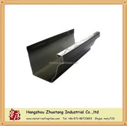 zhuotang gutter & water collector, Rain Gutter system, Roof Material