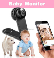 no LCD Size cheap wired baby monitor