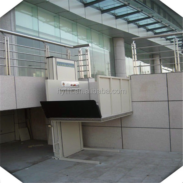 Residential Hydraulic Lifts : Supply residential hydraulic wheelchair lifts outdoor