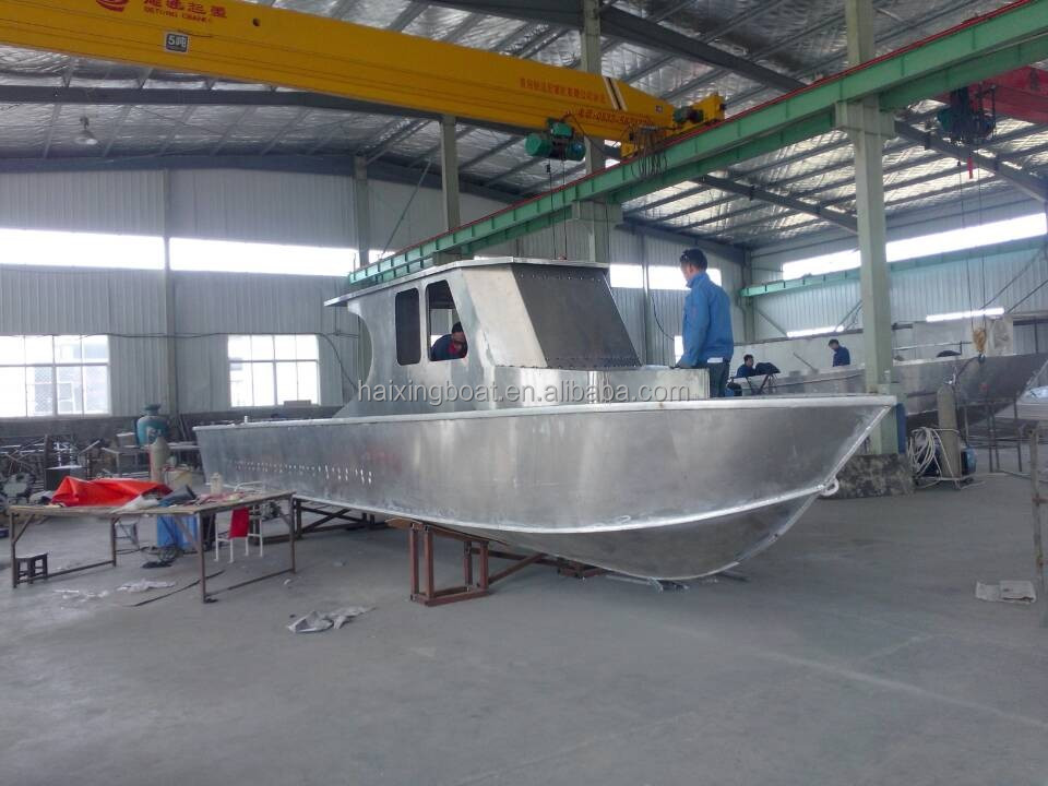 New cabin cruiser boat used fishing boat for sale buy for Aluminum boat with cabin for sale