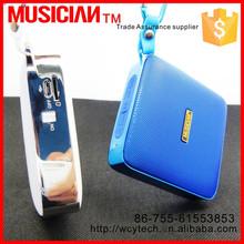 2015 new arrival slim cube wireless haut parleur 2.1 bluetooth mini speaker with TF port