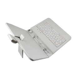 "BULK PU Leather cover for 8"" tablet with keyboard"