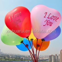 heart balloon Cheap globos colorful wedding favors party balloon printing with logo latex balloon party decoration