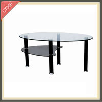 fancy modern coffee table bases for glass tops