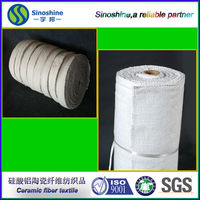 Good mechanical working performance Environmental-Friendly Ceramic fiber cloth
